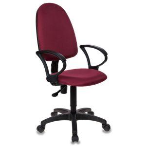 Кресло офисное Бюрократ CH-1300 бордовый бюрократ офисное ch 838axsn mf111 2 черное