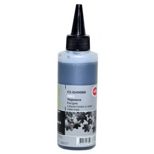Чернила для струйного принтера Cactus CS-GI490BK чёрный чернила для принтера cactus cs i ept0484