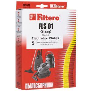 где купить Мешок-пылесборник Filtero FLS 01 (S-bag) (5) Standard по лучшей цене